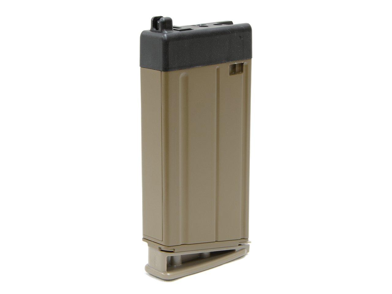 CyberGun FN SCAR-H GBBR用24連スペアマガジン (FDE) [VFC OEM]