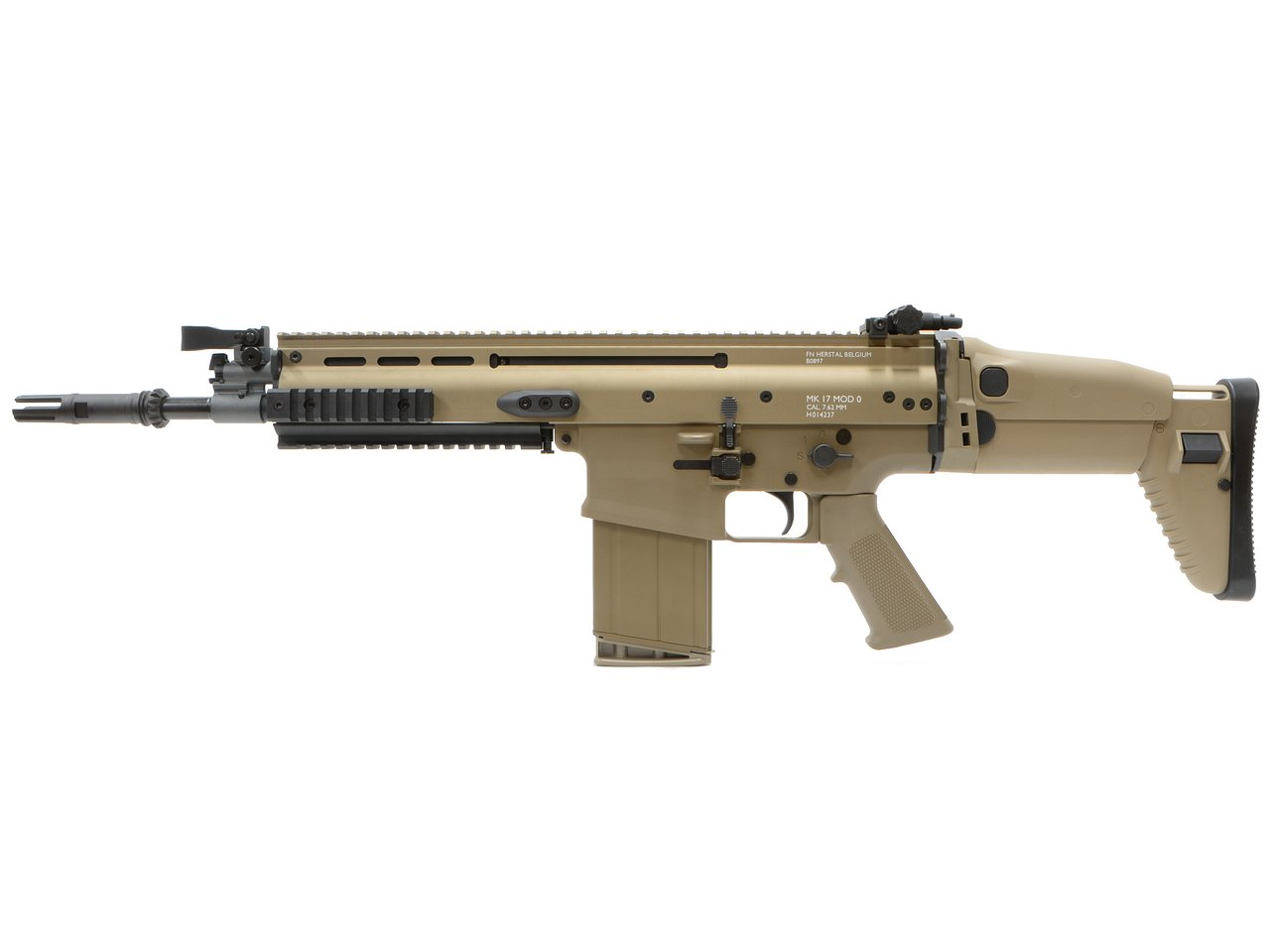 CyberGun FN SCAR-H GBBR (JPversion) FDE [VFC OEM/ガスガン]