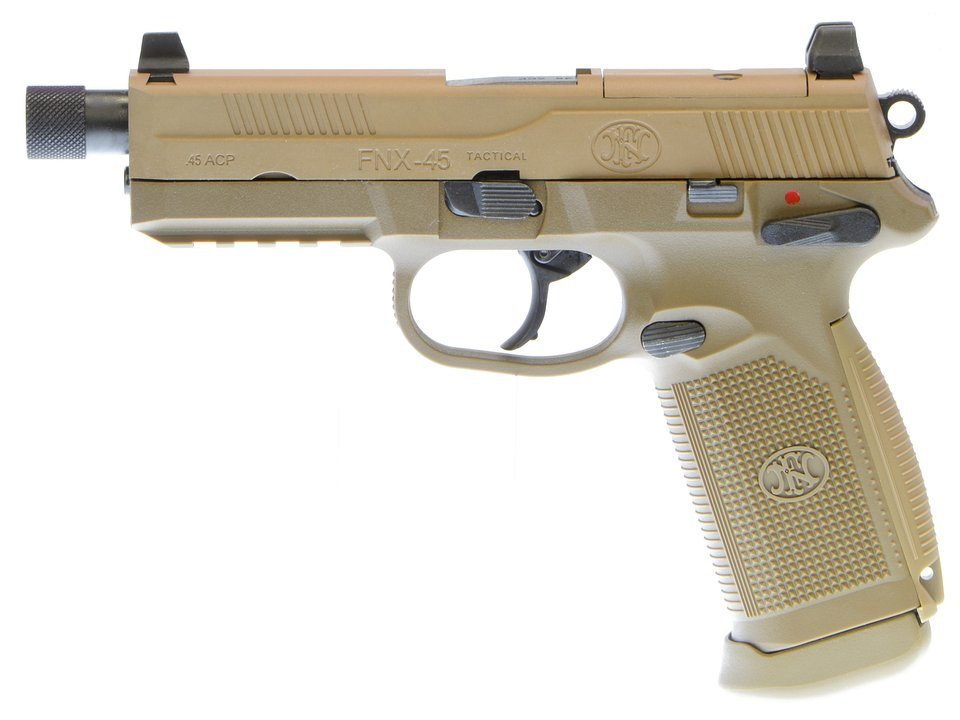 CyberGun FNX-45 Tactical ガスブローバックピストル (DE)  [VFC OEM/ガスガン]
