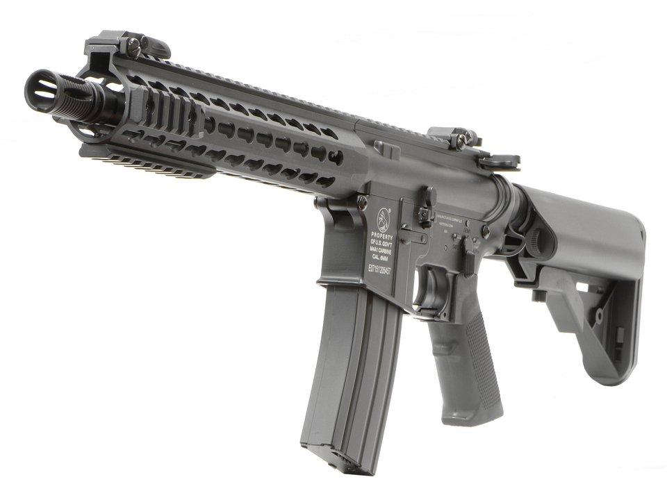 CyberGun Colt M4A1 Keymod 10.3in (BK) [電動ガン]