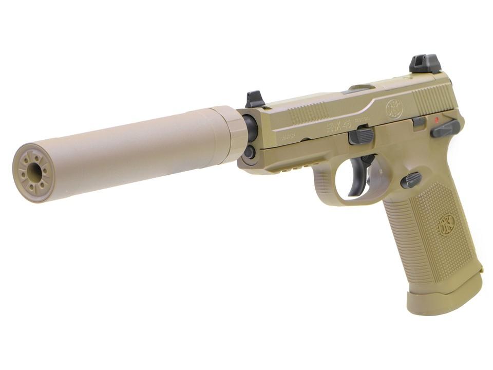 CyberGun FNX-45 Tactical ガスブローバックピストル/DXversionSP1 (DE)  [VFC OEM/ガスガン]