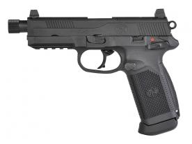 CyberGun FNX-45 Tactical ガスブローバックピストル (BK) [ガスガン]