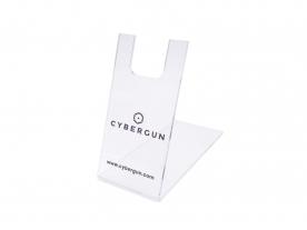 CyberGun ハンドガンディスプレイスタンド/クリアー (Cybergun)