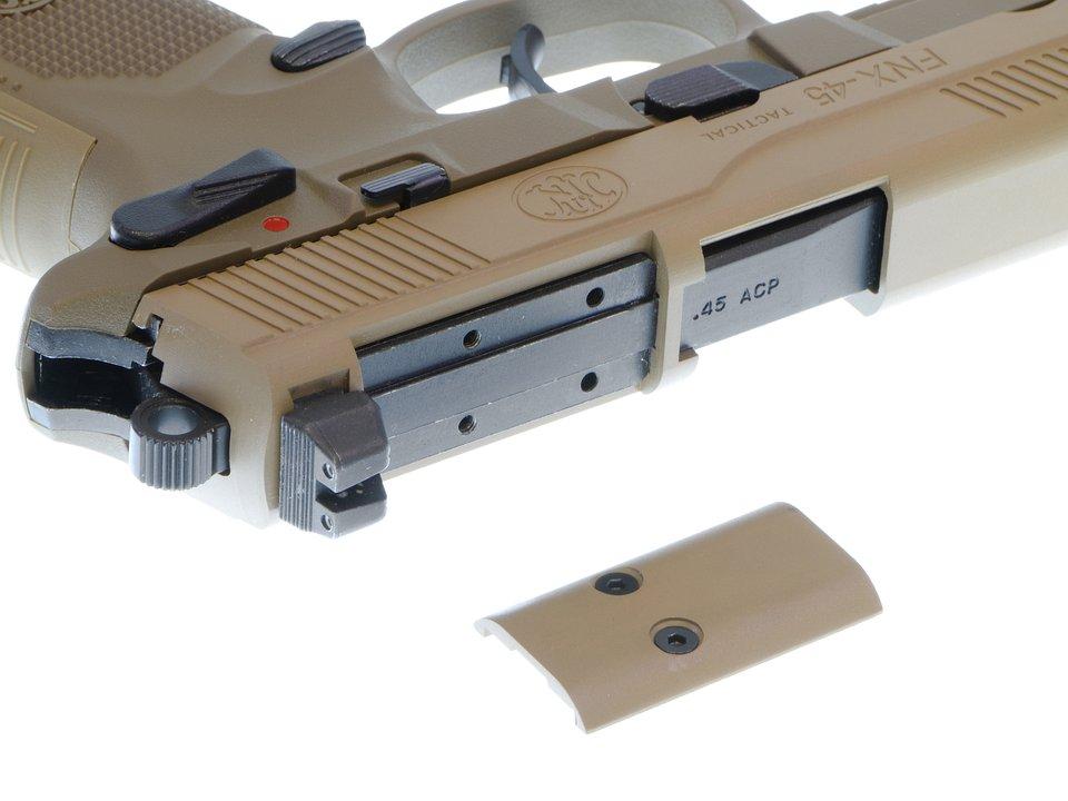 CyberGun FNX-45 Tactical ガスブローバックピストル/DXversionSP1 (DE) [ガスガン]