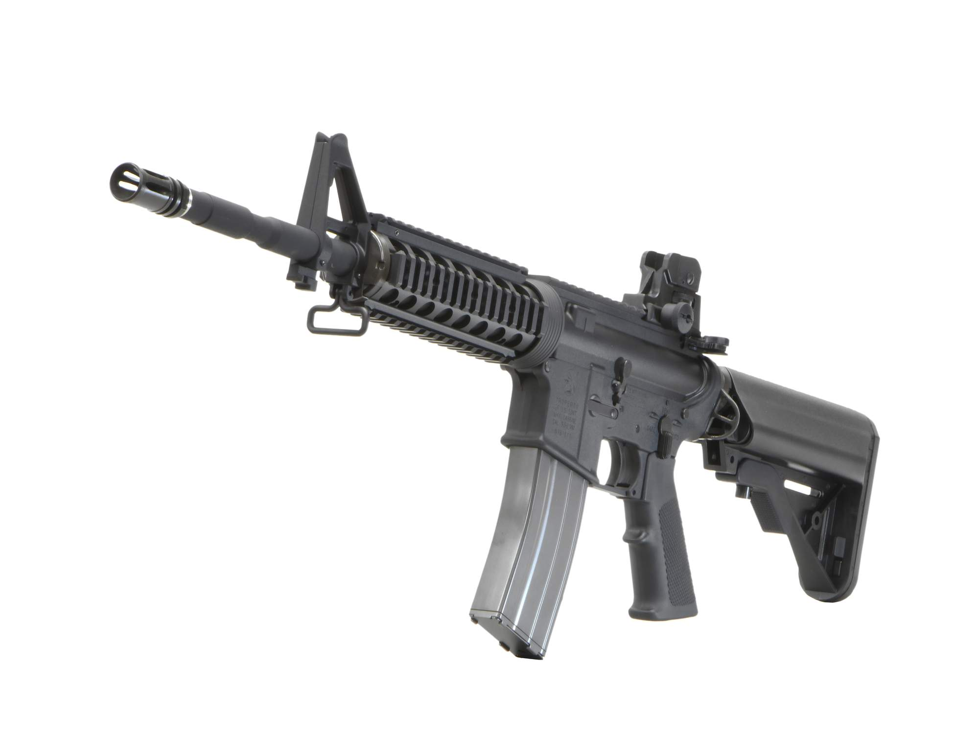 CyberGun Colt M4 RIS 14.5in GBBR V2 (JPver.) [ガスガン]